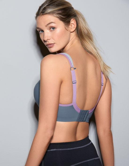 bd44714e311 Wired Sports Bra in Storm by Panache