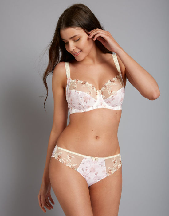 f27793c21f7 Alicia Balconette Bra in Ivory Floral by Fantasie