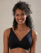 Nova Lounge Bra in Black by Bravissimo