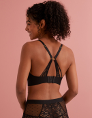 Riley Non Wired Bralette in Black by Rougette