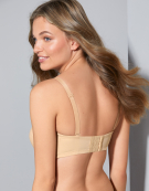 Evie Strapless Bra in Nude by Panache