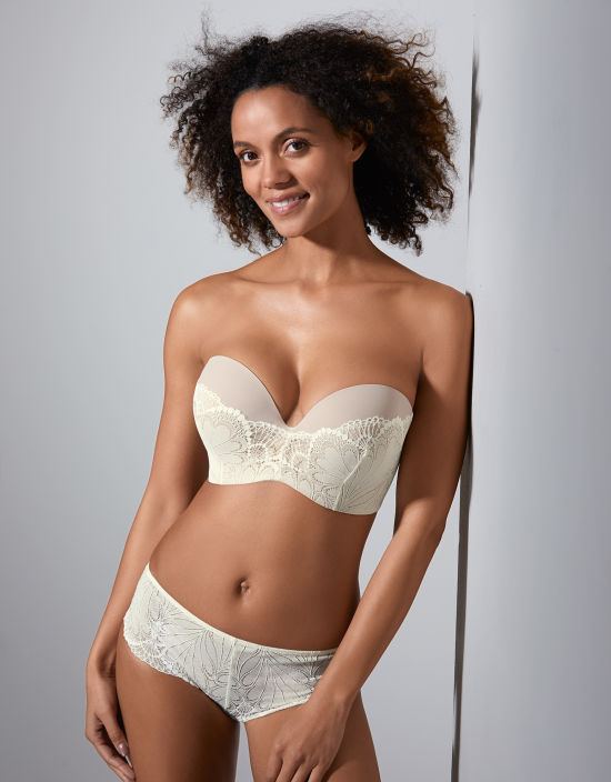 235da48502 Refined Glamour Ultimate Strapless Bra in Ivory by Wonderbra ...
