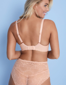 Selina Lace Full Cup Bra in Blush Pink by Bravissimo