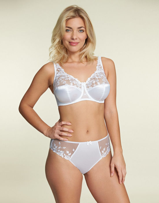 a58d2203bc Belle Full Cup Bra in White by Fantasie