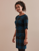 Paige Dress in Teal Multi by Bravissimo Clothing