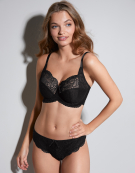 Andorra Full Cup Bra in Black by Panache