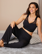 Sleep Bra in Black by Bravissimo