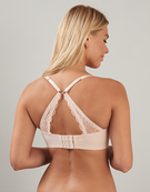 Temptation Nursing Bra in Petal Pink by Hotmilk