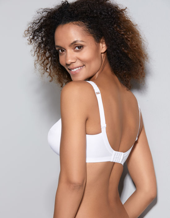 bcb38cf8da7d9 Charlotte Non-Wired Non Wired Bra in White by Royce