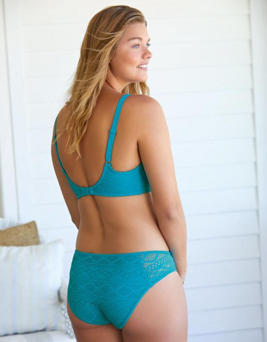 44eff2637 Sundance Sweetheart Balconette Bikini Top in Teal by Freya