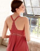 PJ Racerback Cami Top PJ Cami Top in Rust by Bravissimo