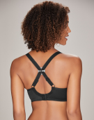 4 Pack Racer Back Clips Straps in Clear and Black by Maidenform