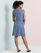 Broderie Day Dress in Denim Blue by Bravissimo Dresses