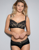 Sophie Non-Wired Non Wired Bra in Black by Panache