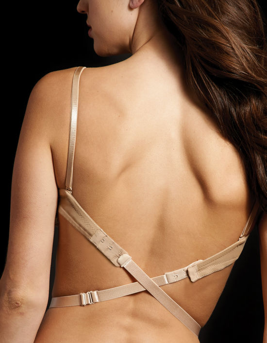 e23bda64ee 2 Hook Low Back Converter Other Bra Accessory in Nude by Maidenform