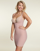WYOB Slip Dress Shapewear Slips in Blush by Maidenform