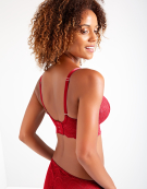 Harper Plunge Bralette in Red by Bravissimo