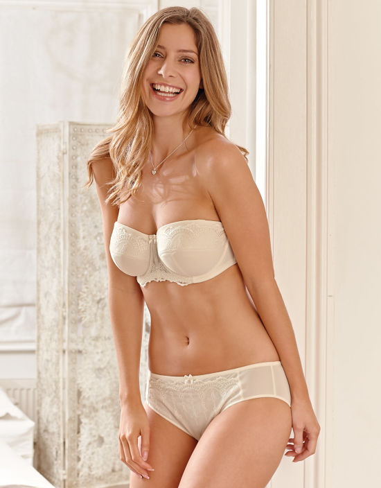 9e706fc75e Evie Bridal Strapless Bra in Ivory by Panache