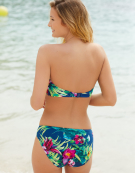 Amalfi Bandeau Bikini Top in Multi Print by Fantasie