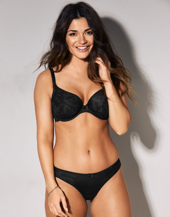 1523a7295a4 Tango Plunge Bra in Black by Panache