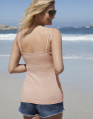 Lightly Padded Underwired Strappy Top in Blush Pink by Bravissimo