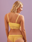 Fancies Non Wired Bralette in Lemon by Freya