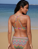 Ibiza Bikini Top in Multi Print by Bravissimo