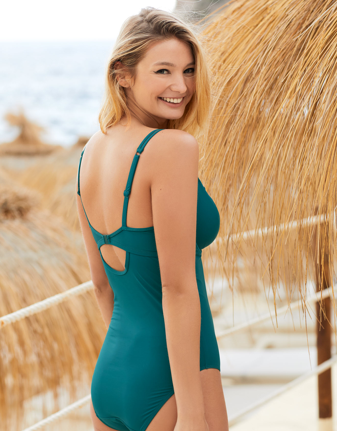 Marseille Scallop Swimsuit by