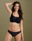 Sofia Balconette Bralette in Black by Cleo