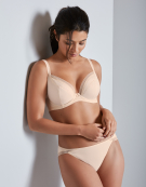 Elise Plunge Bra in Nude by Bravissimo
