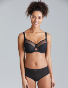 Victory Balconette Bra in Black by Curvy Kate