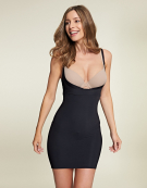 WYOB Slip Dress Shapewear Slips in Black by Maidenform