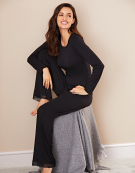 Modal PJ Top in Black by Bravissimo