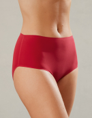 Smoothease brief High Waisted Brief in Red by Fantasie