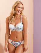 Darcy Full Cup Bra in Multi Floral by Bravissimo
