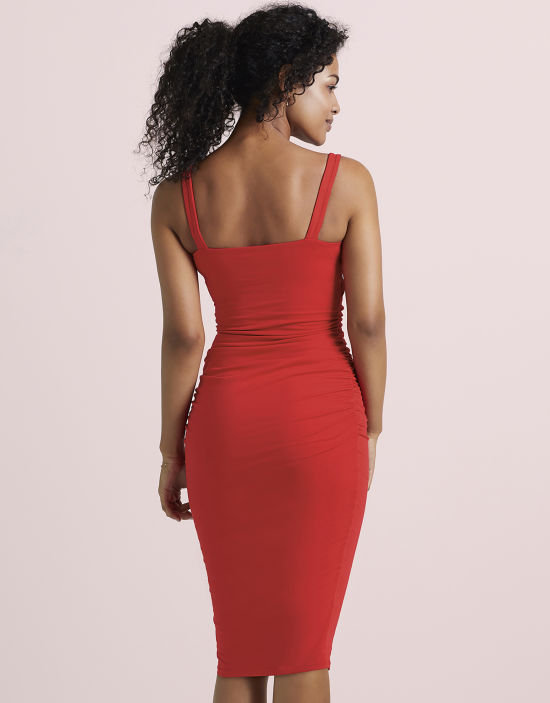 32770e169b7dc Strappy Leila Dress in Red by Bravissimo Dresses