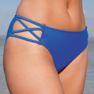 4c79e1c6b9 Bondi Cut Out Side Brief in Cobalt by Bravissimo