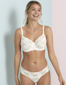 Lacey Floral Full Cup Bra in Ivory by Bravissimo