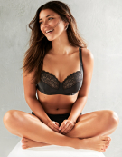 Erin Full Cup Bra in Black by Bravissimo