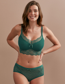 Fancies Non Wired Bralette in Emerald Green by Freya