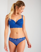 Fancies Longline Half-Cup Bra in Cobalt by Freya