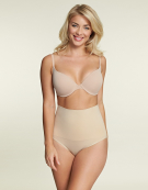 Hi Waist Brief Shapewear Briefs in Nude by Maidenform