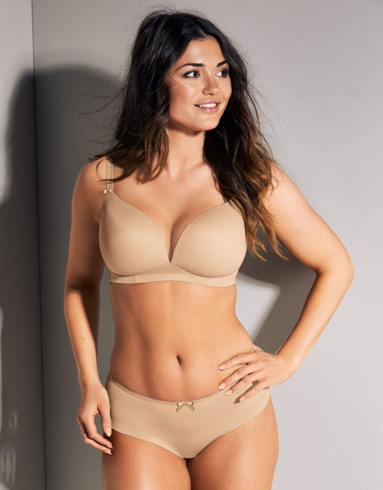 5579a2641f Deco Non-Wired Non Wired Bra in Nude by Freya