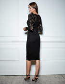 Jessie Dress in Black by Bravissimo Clothing