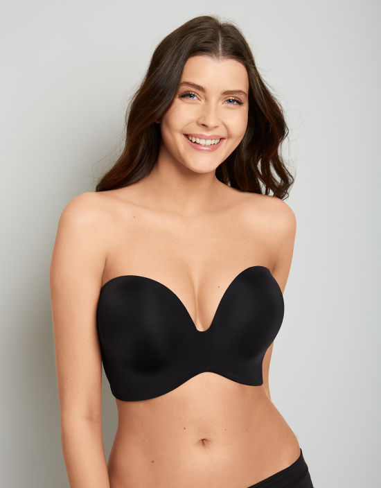 539876cfbdf Ultimate Strapless Bra in Black by Wonderbra