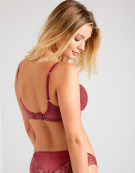 Quinn Balconette Bra in Rust by Panache