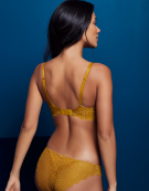 Millie Balconette Bra in Ochre by Bravissimo