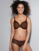 Glossies Plunge Bra in Brown by Gossard