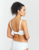 Fusion Full Cup Bra in White by Fantasie