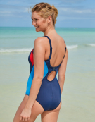 Freestyle Sports Swimsuit Non Wired Swimsuit in Navy/Red by Freya